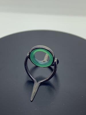Agate Perfect Stripping Guide 10mm grün brüniertes silber