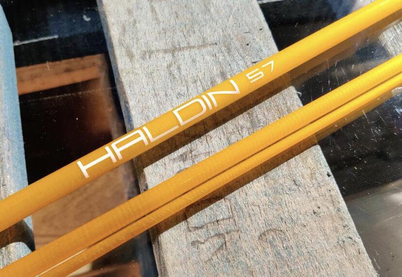 Haldin HDT 57 S-Glass Blank inkl. Socket
