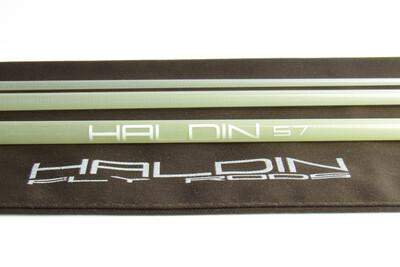 Haldin HDT 67 S-Glass Blank Clear inkl, Socket