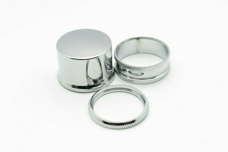 Cap and Ring Hardware chrome