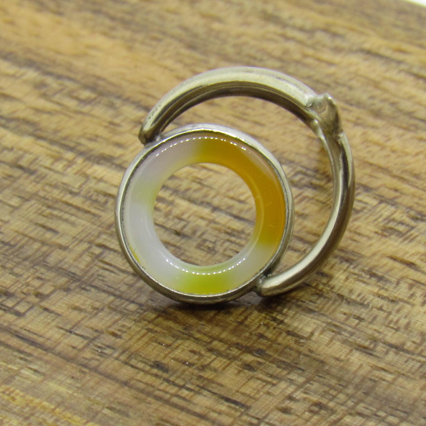 Agate Perfect Stripping Guide 10mm orange white Chrome