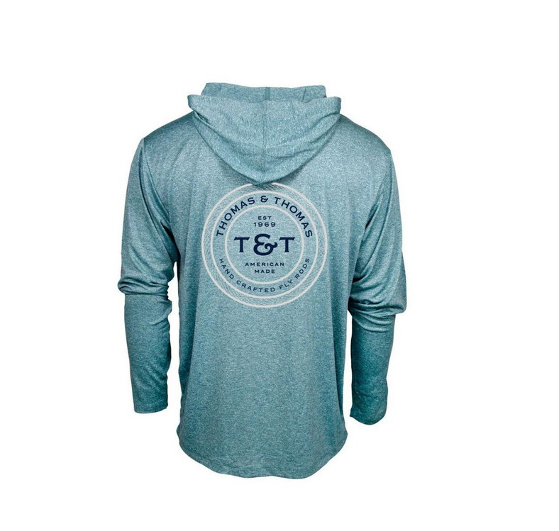 Thomas & Thomas Sun Hoody Harbor Heather T&T