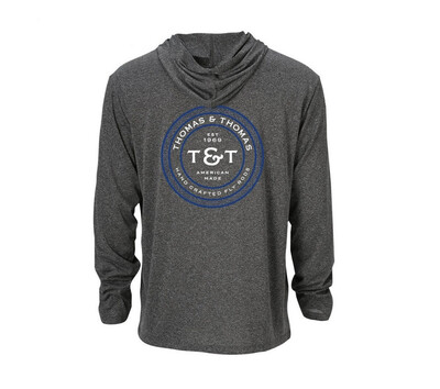 Thomas & Thomas Sun Hoody Heather Grey T&T