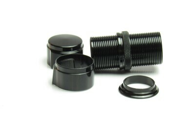 Struble D20 Downlock Rollenhalter schwarz (Skeleton Hardware only)