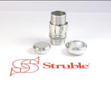Struble U20 Uplock Rollenhalter silber (Skeleton Hardware only)
