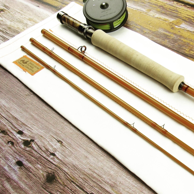 Epic Swift Fastglass II - 476 Amber MB Custom Studio Rod - Ausstellungsstück