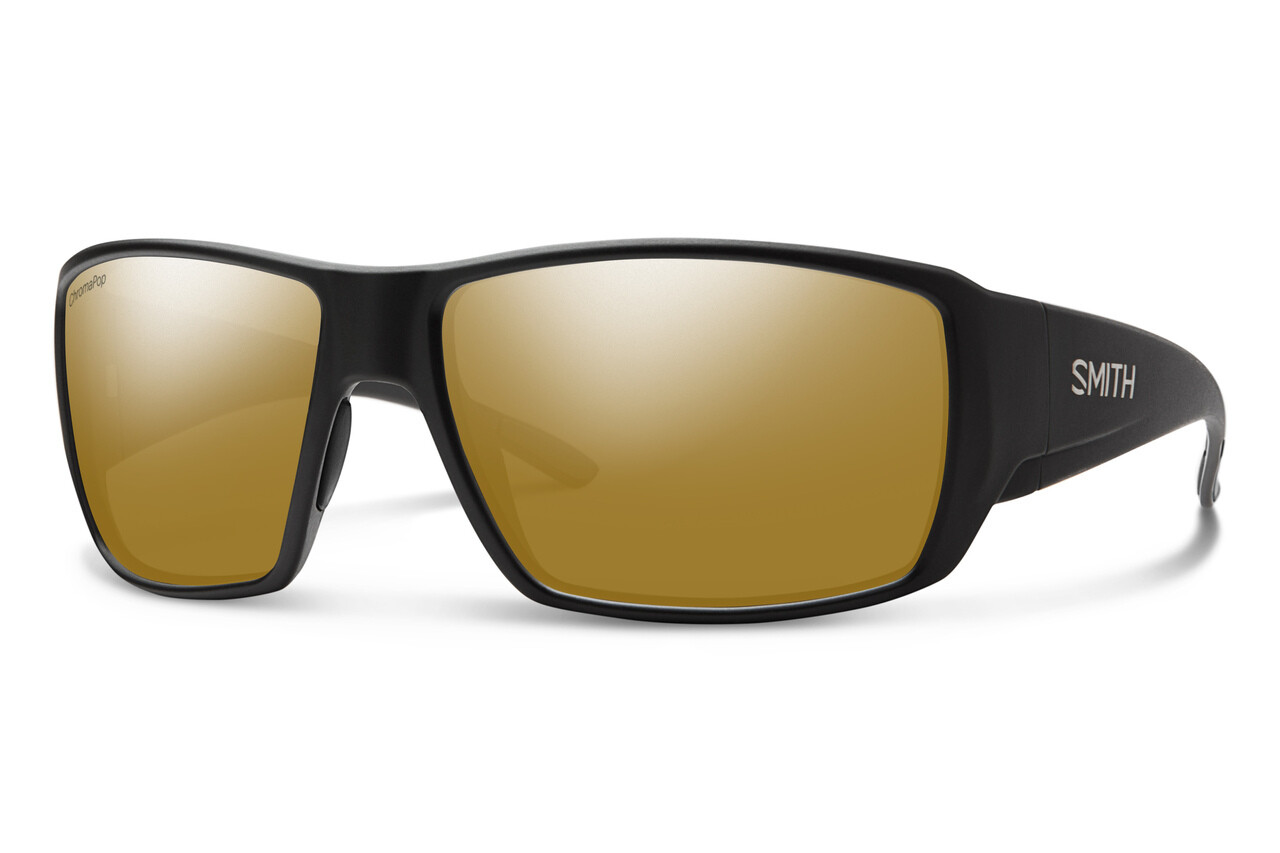 Smith Optics - Guide's Choice Matte Black Polar Bronze Mirror