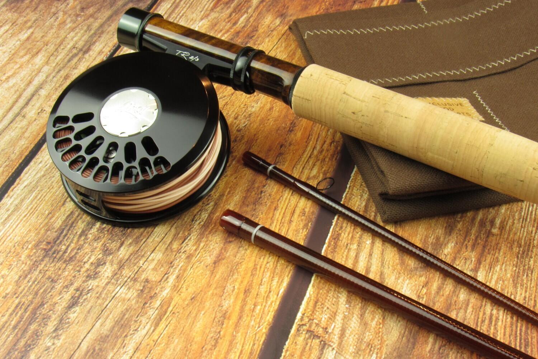 Soulmate Glassic 702 - 7ft 2wt brown - MB Custom Studio Rod