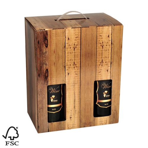 Holthoeve wijndoos 6 flessen