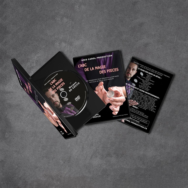 DVD L'ABC de la magie des pièces