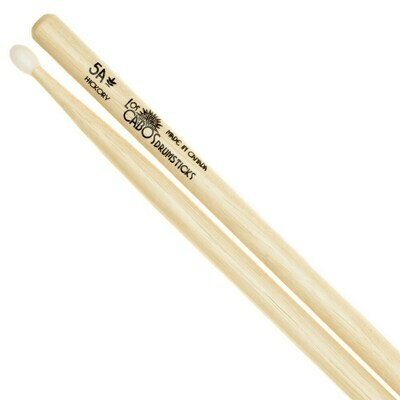 Los Cabos White Hickory Nylon Tip Drumsticks