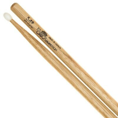 Los Cabos Red Hickory Nylon Tip Drumsticks