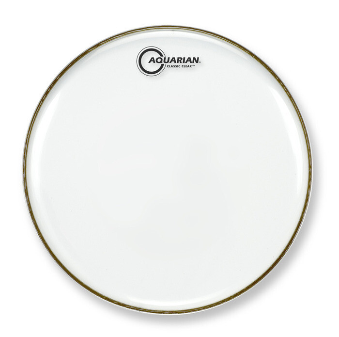 Aquarian Classic Clear Snare Resonant