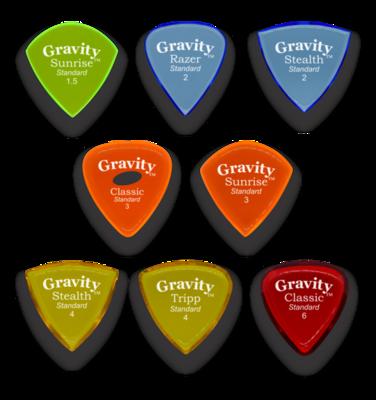 Gravity Thick Picks Variety Pack (8)