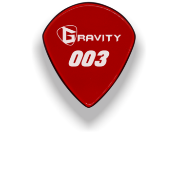 Gravity Guitar Pick 003