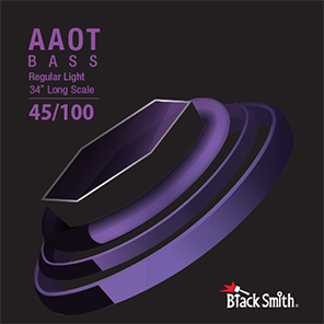Black Smith 4 String Bass AAOT 45/100