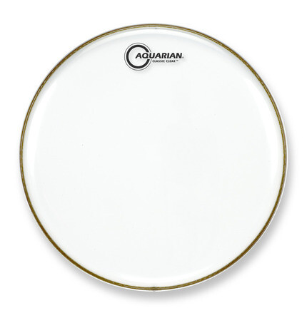 Aquarian Classic Clear Single Ply