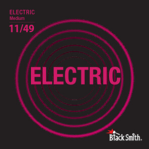 Black Smith Electric Guitar Strings 11/49