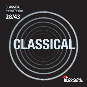 Black Smith Classical Strings Normal Tension
