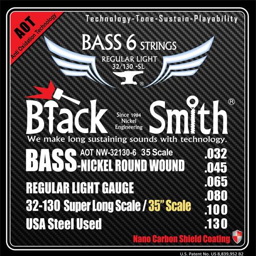 Black Smith 6 String Bass AOT 32/130