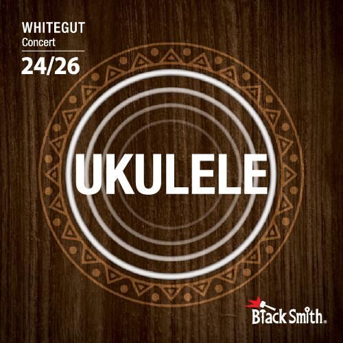Black Smith Ukulele Concert Strings (Whitegut)