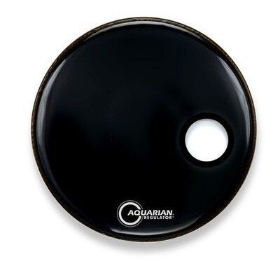 Aquarian Regulator Offset Hole Gloss Black