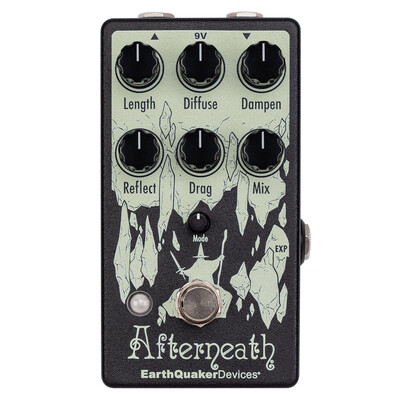 EarthQuaker Devices Afterneath Enhanced Otherworldly Reverberator