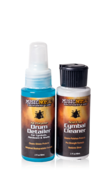 Music Nomad Drum & Cymbal Cleaner Kit 2oz.