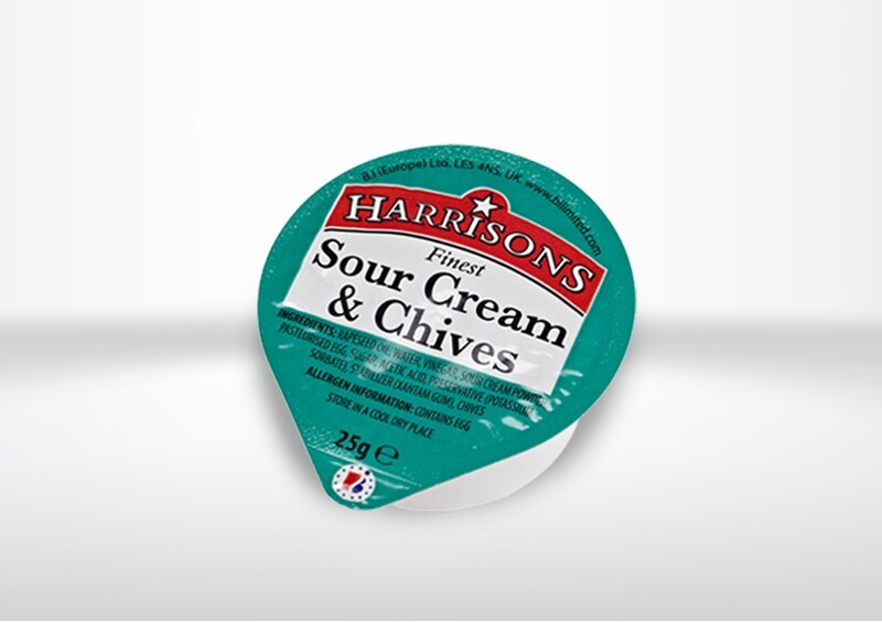Harrisons Sour Cream & Chive Dip Pots