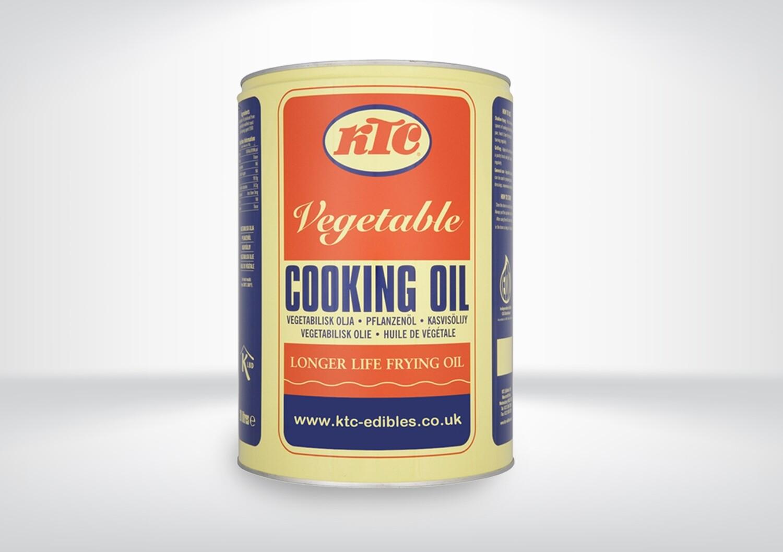 KTC Pure Vegetable Oil 20Ltr