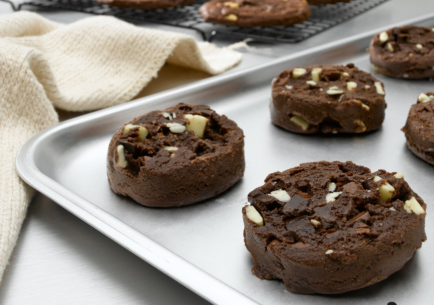 Double Chocolate Chip Puck