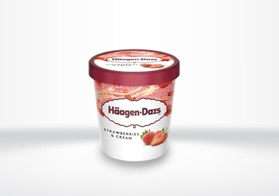 Häagen Dazs - Strawberries & Cream