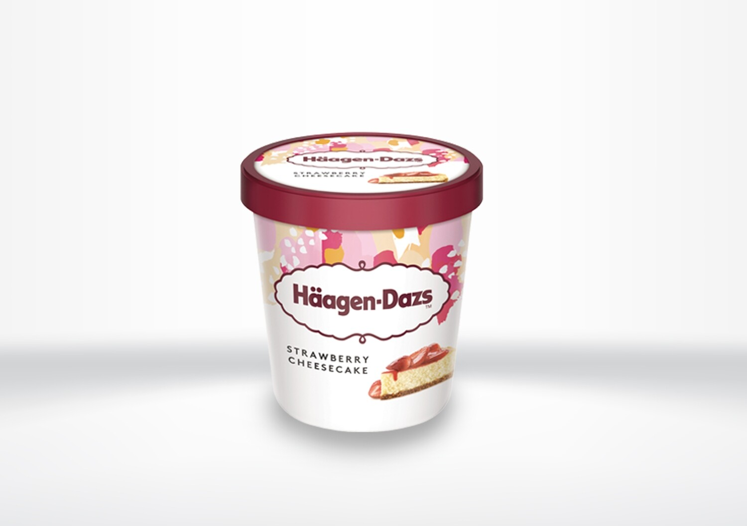 Häagen Dazs - Strawberry Cheesecake