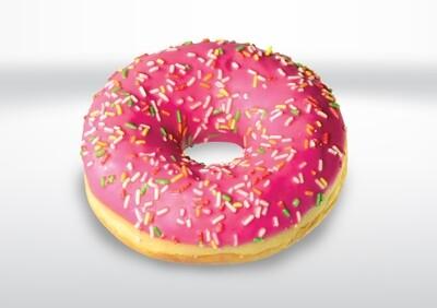 Strawberry Sprinkle Doughnut