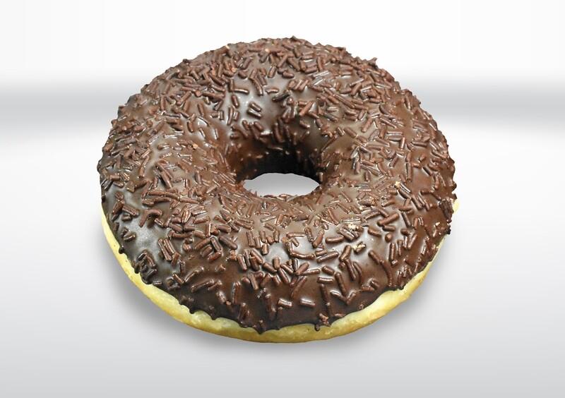 Triple Chocolate Doughnut
