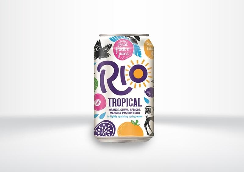 Rio Tropical Fruit Cans