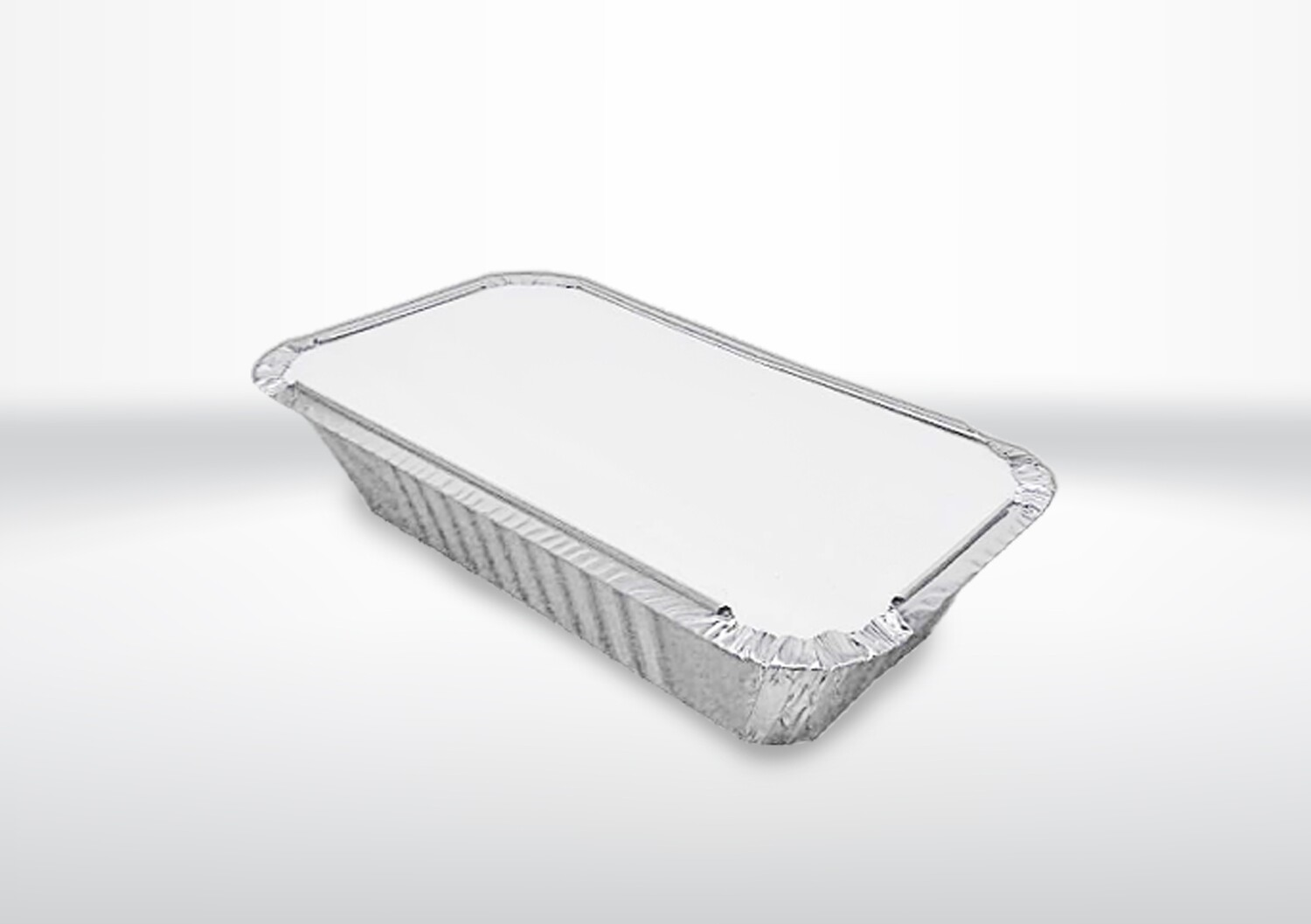 6A Long Foil Container & Lids (2 Boxes)