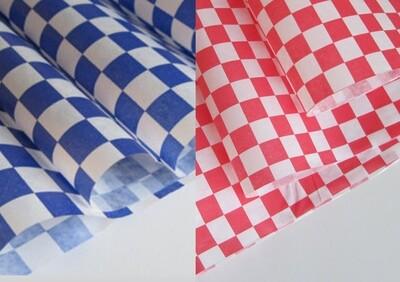 Blue Burger Wraps