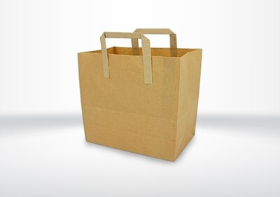 Large Brown Bags with Handles