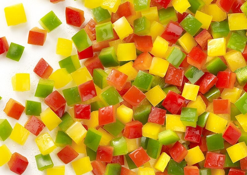 Diced Mixed Peppers