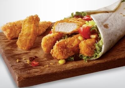 Hot 'N' Kicking Chicken Goujons - New recipe