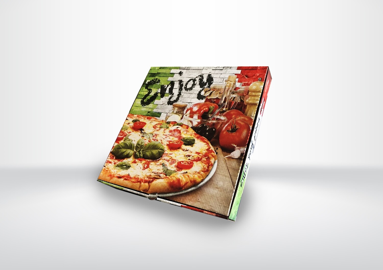 "9"" Italian Pizza Box"
