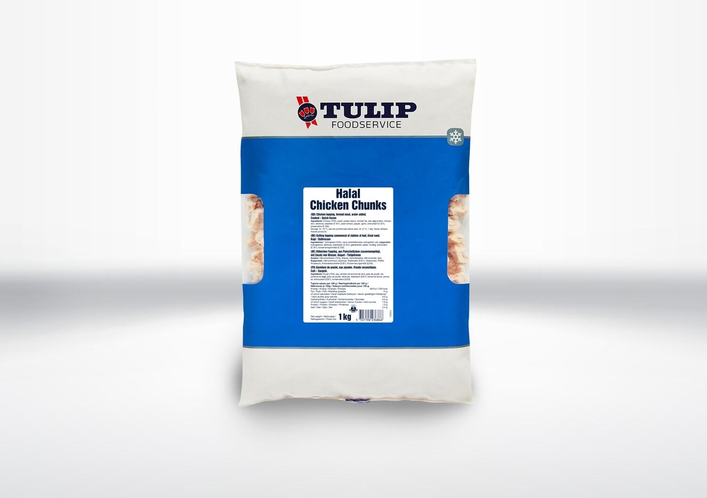 Tulip Halal Chicken Chunks (BB4 02/05)