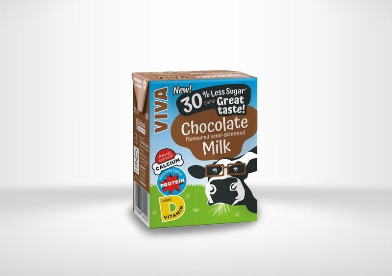 Viva Chocolate Flavoured Milk Cartons