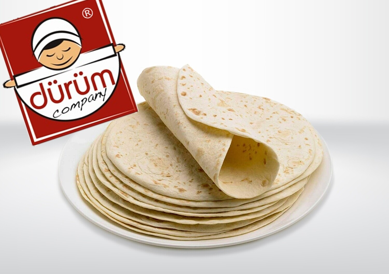 "12"" Dürüm Plain Tortilla Wraps"