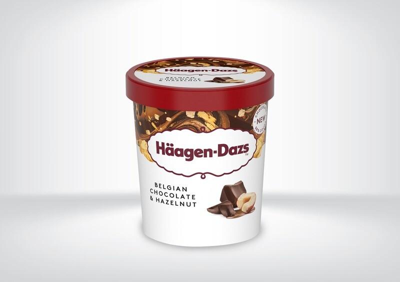 Häagen Dazs - Belgian Chocolate & Hazelnuts