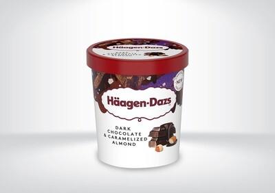 Häagen Dazs - Dark Chocolate & Caramelized Almond