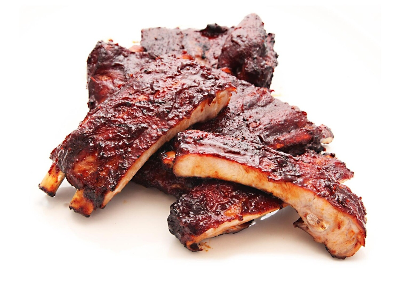 Half Rack BBQ Pork Ribs