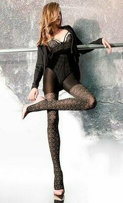Kauniit sukkahousut 40den, natural/musta