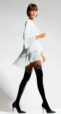 Kuvioidut sukkahousut 50den KOKO 3, musta